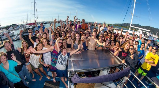 The happiness factor on Reef Experience