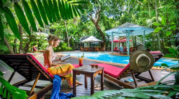Green Island Private Resort Pool