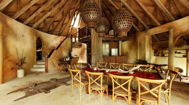 Haus Mawu Dining Area