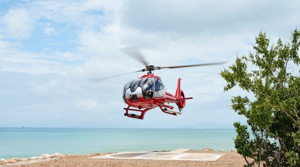 Arrive in Style by Helicopter