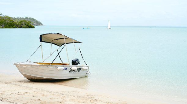 Motorised Dinghy Available for Guests